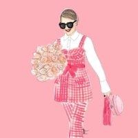 Illustration Spring Peony