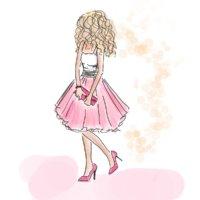 Illustration Carrie modezeichnungen