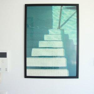 Fotografie Swimmingpool treppen