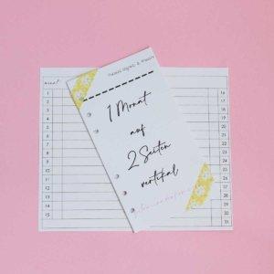 planer einlagen dickes papier personal größe