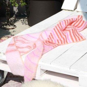 schönes stricktuch mohair kaufen rosa