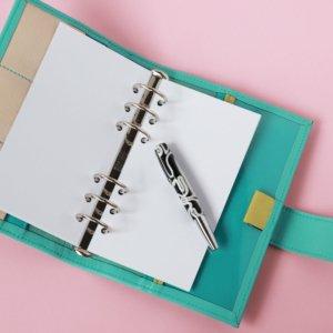 Personal- 50 Blatt weisses Papier 100g blanco