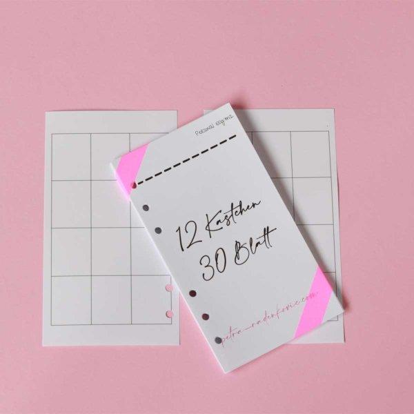 personal planer einlagen todo listen